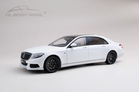 Almost Real Brabus 900 Mercedes-Maybach S-Class - Diamond White 1/18