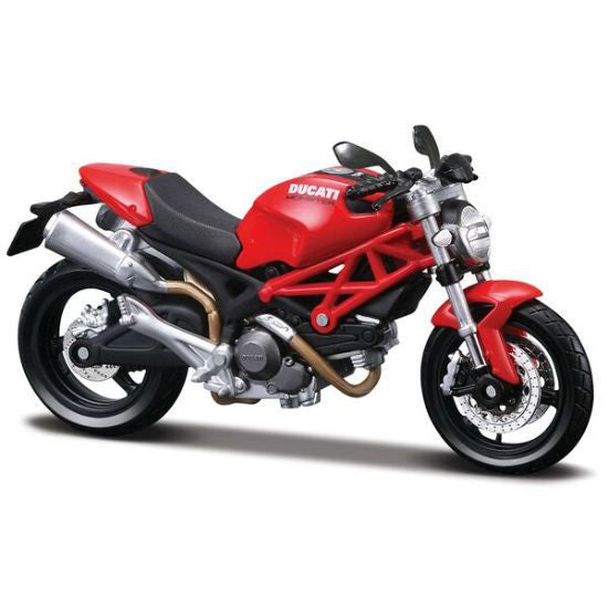 Maisto Assembly Line Ducati Monster 696 - Hobbytoys - 1