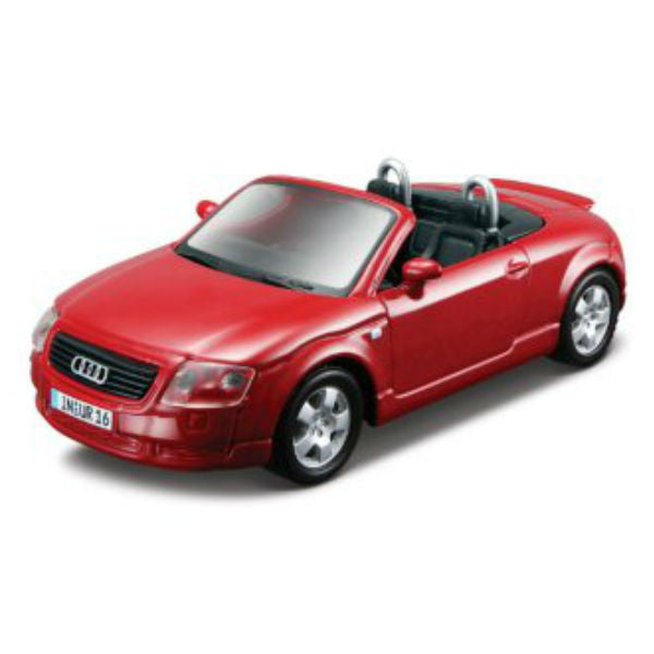 Maisto Power Kruzerz Audi TT Roadster Pull Back Action Car - Hobbytoys