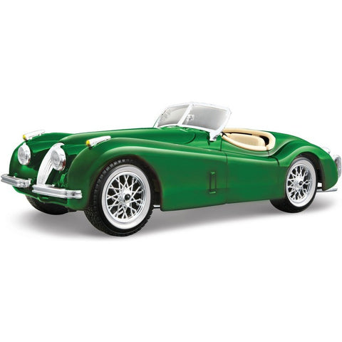 Bburago 1951 Jaguar XK 120 Roadster 1/24 green