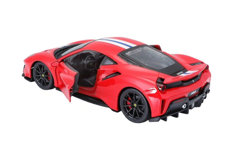Bburago Ferrari 488 Pista 1/24 diecast scale model car