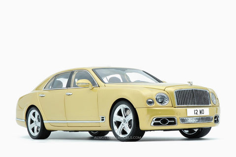 Almost Real Bentley Mulsanne Speed - 2017-Julep 1/18