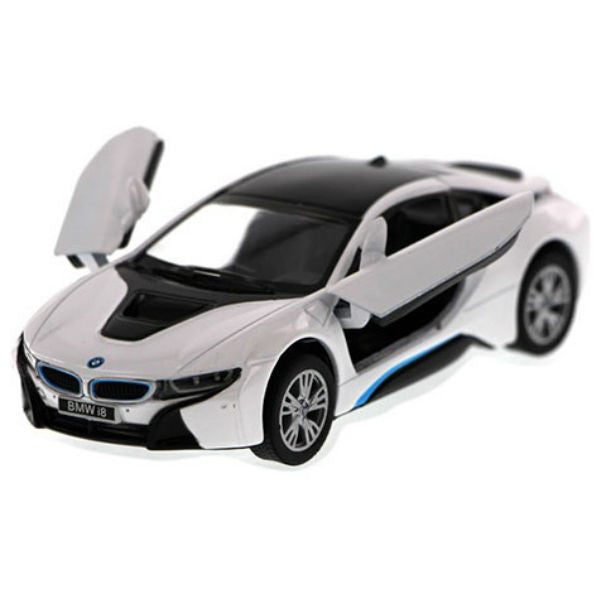 Kinsmart BMW i8 1/36 White - Hobbytoys - 1