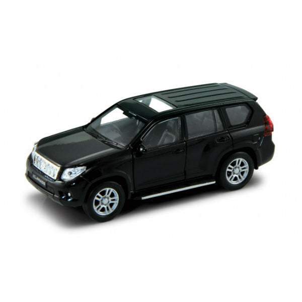 Welly Toyota Land Cruiser Prado Pullback Action Car Black - Hobbytoys