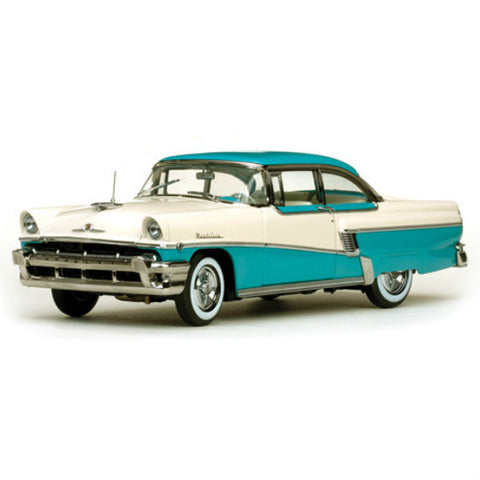 Sun Star 1956 Mercury MontClair Hard Top 1/18 Diecast Model Car - Hobbytoys - 1