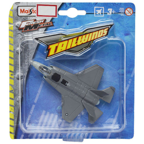 Maisto Tailwinds F-35 Lightning Grey Without Stand - Hobbytoys