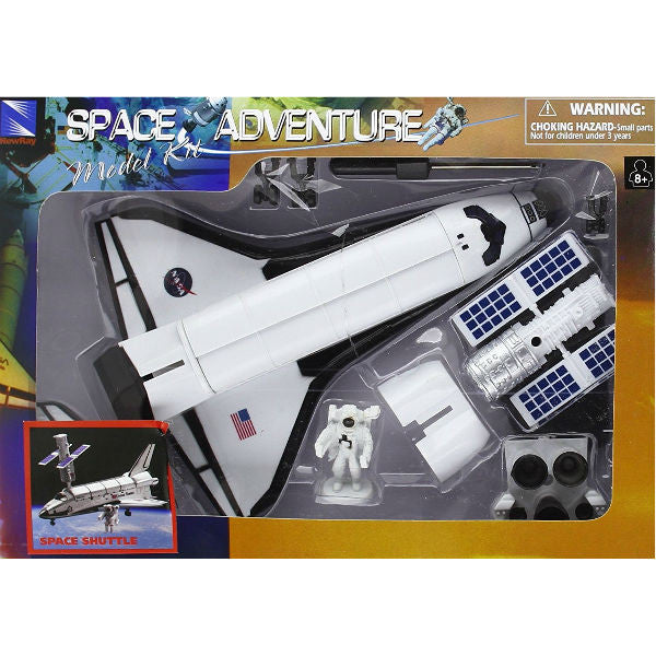 Newray space adventure space shuttle model kit - Small space shuttle model ...