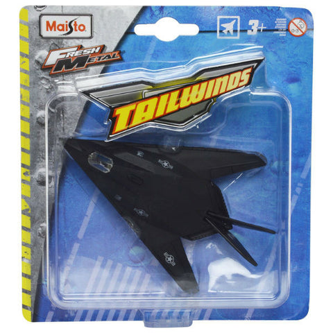 Maisto Tailwinds F-117 Nighthawk Without Stand Black - Hobbytoys