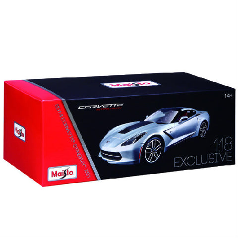 Maisto Exclusive Edition 2014 Corvette Stingray Z51 1/18 - Hobbytoys - 2