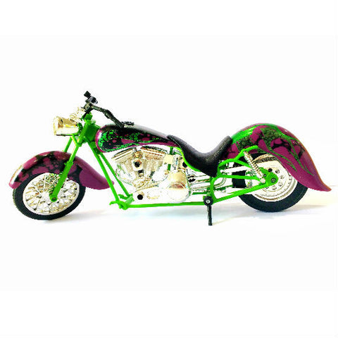NewRay Custom Chopper 1:12 Diecast Motorcycle Model - Hobbytoys - 1