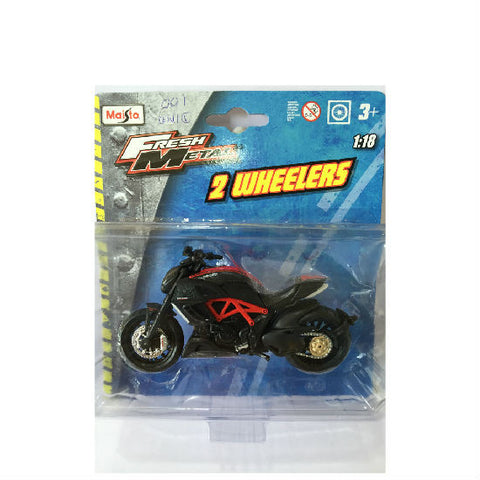 Maisto Fresh Metal Ducati Diavel Carbon 1/18 - Hobbytoys - 2