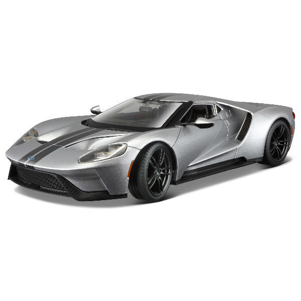 Maisto 2017 Ford GT 1/18 Grey - Hobbytoys