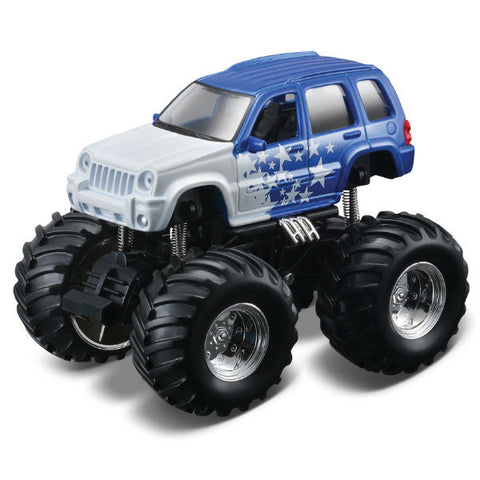 Maisto Earth Shockers Jeep Liberty - Hobbytoys