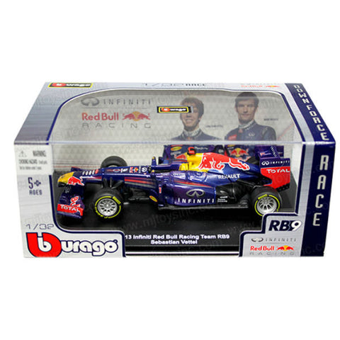 Bburago 2013 Infiniti Red Bull Racing Team RB9 Sebastian Vettel 1/32