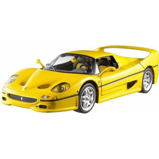 Bburago Ferrari F50 1/18 Yellow - Hobbytoys