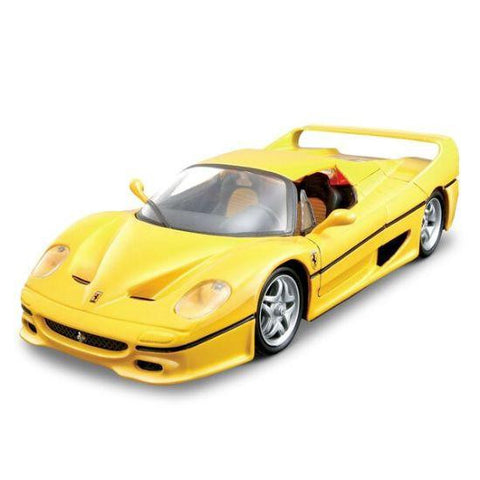 Bburago Ferrari F50 Closed Top 1/24 Yellow - Hobbytoys