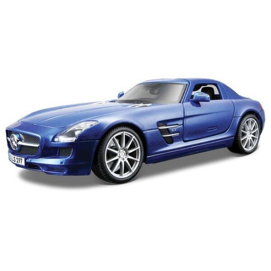 Maisto Mercedes Benz SLS AMG 1:18 Die-Cast Car Model - Hobbytoys