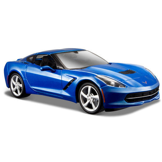 Maisto 2014 Corvette Stingray Coupe 1/24 - Hobbytoys