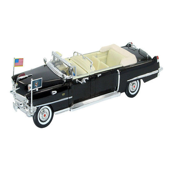 Signature Models 1956 Cadillac US Presidential Limo 1/32 - Hobbytoys - 1