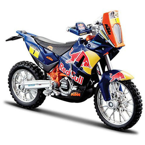 Bburago Red Bull KTM 450 Rally (Dakar Rally) 1/18 - Hobbytoys - 2
