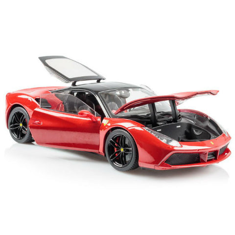 Bburago Ferrari 488 GTB Signature Series 1/18 Red - Hobbytoys - 2