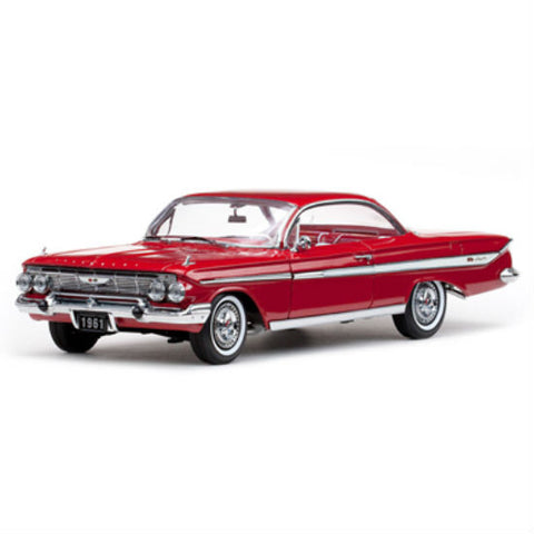 Sun Star 1961 Chevrolet Impala Sport Coupe 1/18 Diecast Model Car - Hobbytoys - 1