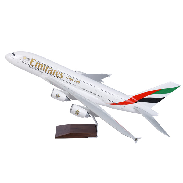 Emirates Airline Airbus A380 airplane