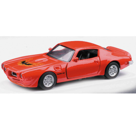New-Ray 1973 Pontiac Firebird Trans AM Die-cast Toy Model Car - Hobbytoys