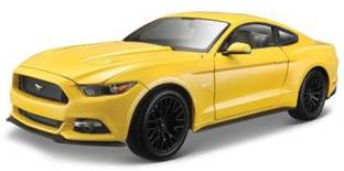 Maisto Power Kruzerz 2015 Ford Mustang GT Pull Back Action Car yellow