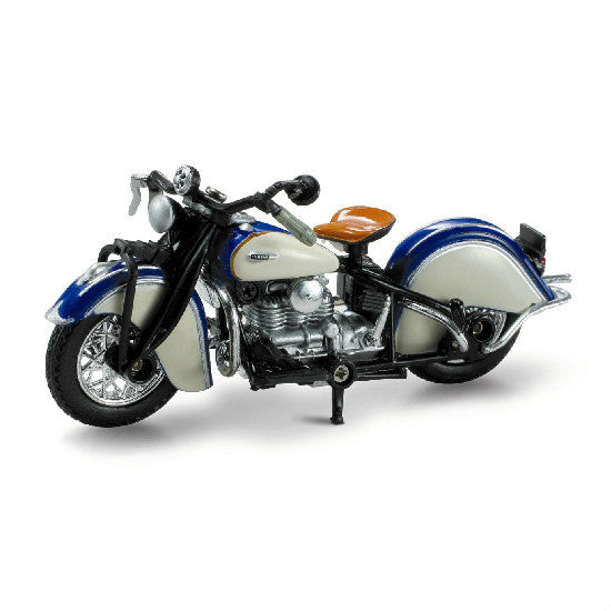 New-Ray 1939 Indian Four Die-cast Motorcycle Model 1:32 - Hobbytoys