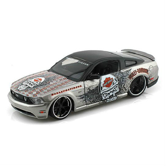 Maisto 2011 Ford Mustang GT 1/24 Grey - Hobbytoys