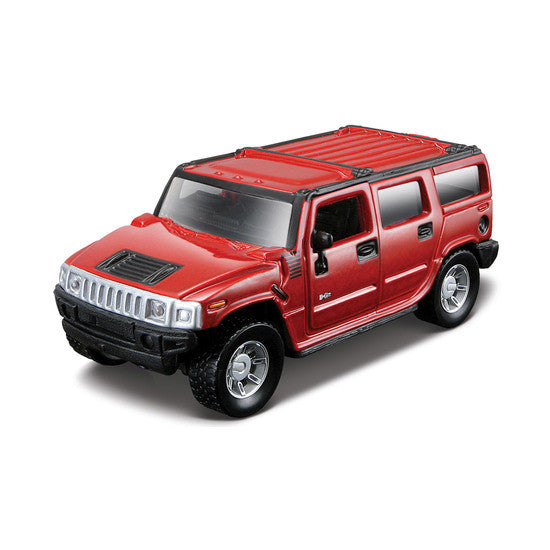 Maisto Power Kruzerz Hummer H2 SUV 2003 Pull Back Action Car - Hobbytoys