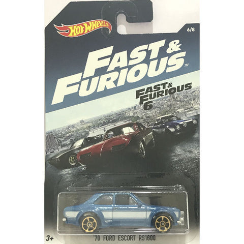 Hot Wheels Fast & Furious 6 Ford Escort RS1600