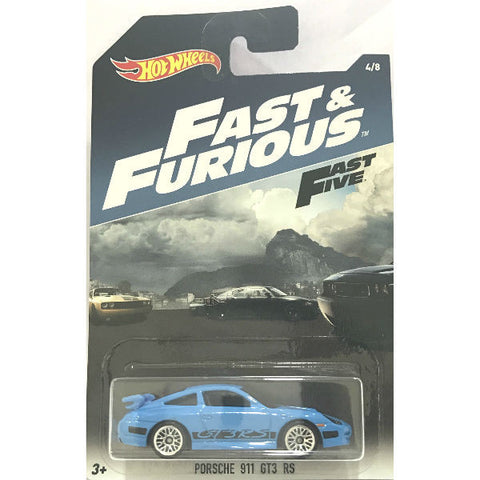 Hot Wheels Fast & Furious Fast Five Porsche 911 GT3 RS