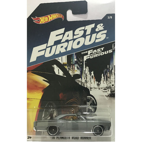 Hot Wheels The Fast & The Furious Plymouth Road Runner
