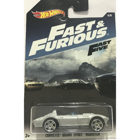 Hot Wheels Fast & Furious Fast Five Corvette Grand Sport Roadster
