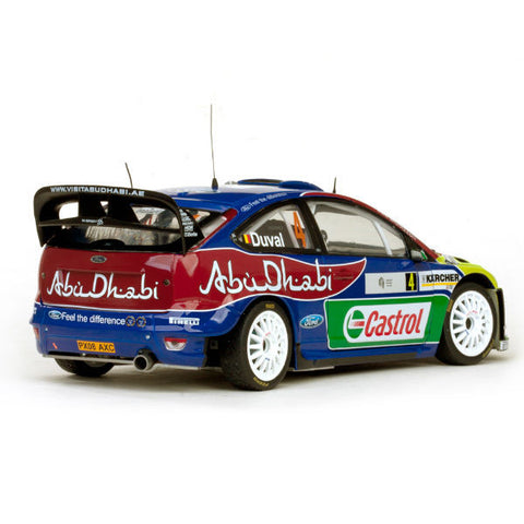 Sun Star Ford Focus Rs Wrc08 F.Duval / P.Pivato 1/18 - Hobbytoys - 2
