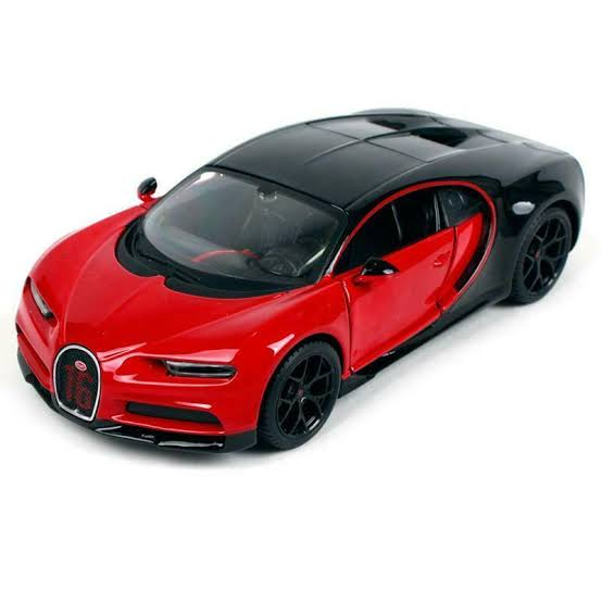 Bburago Bugatti Chiron sports 1/18 Red