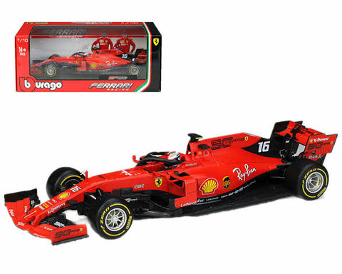 Bburago 2019 F1 Ferrari SF90 #16 Racing C Leclerc car  1/18 available now