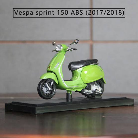 Maisto 2017/2018 Vespa Sprint 150 ABS Green 1/18