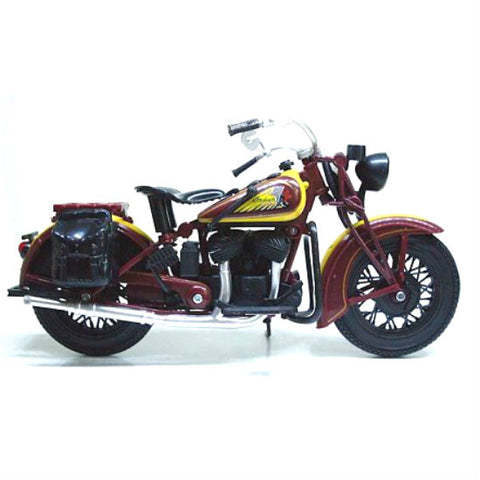 NewRay Indian Sport Scout 1:12 Diecast Motorcycle Model - Hobbytoys - 2