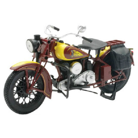 NewRay Indian Sport Scout 1:12 Diecast Motorcycle Model - Hobbytoys - 1