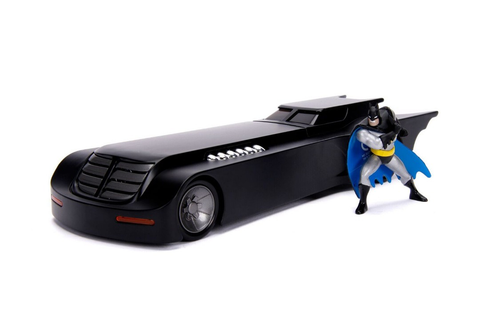 Jada Toys Animated Series Batmobile with batman figure 1/24