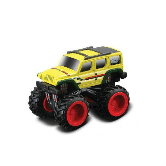 "Maisto Dirt Demons Jeep Rescue Concept 3"" Die-cast Pull Back Motorized Car - Hobbytoys"