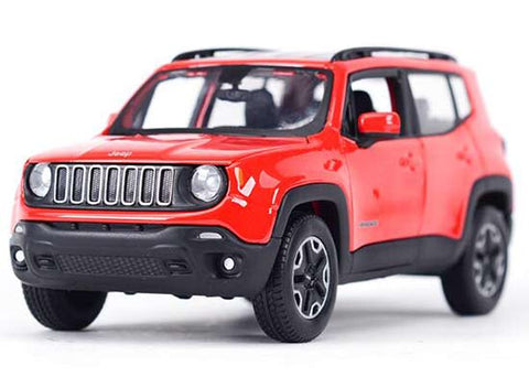 Maisto 2017 Jeep Renegade 1/24 Red