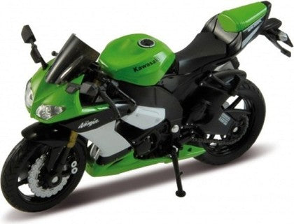 Welly KAWASAKI 2001 NINJA ZX-12R Bike 1/18