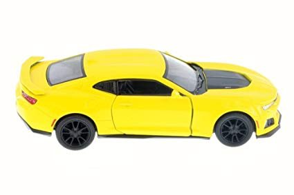 Kinsmart 2017 Cheverolet Camaro ZL1 1/36 Yellow