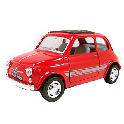 Kinsmart Fiat 500 1/36 Red