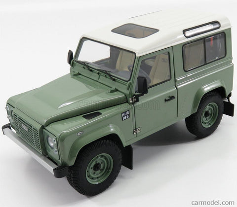 Kyosho 1984 Land Rover Defender 90 Grasmere Green Metallic 1/18