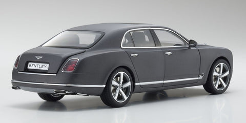 Kyosho 2014 Bentley Mulsanne Speed 1/18 Dark Grey Satin